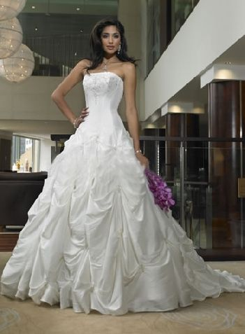 gathered wedding gowns | Wedding Colorado Springs | Pinterest ...