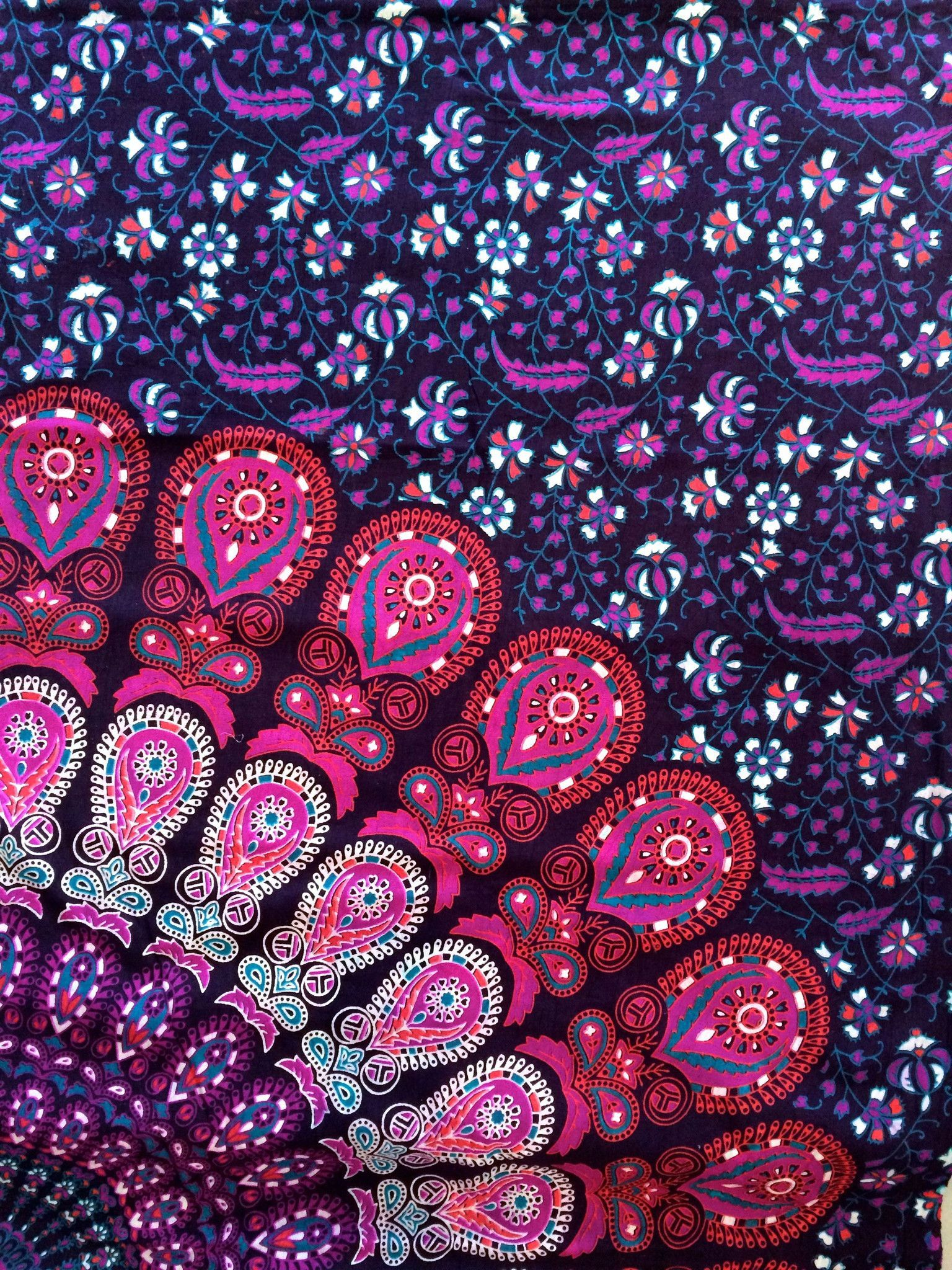 Boho Tapestry Magenta