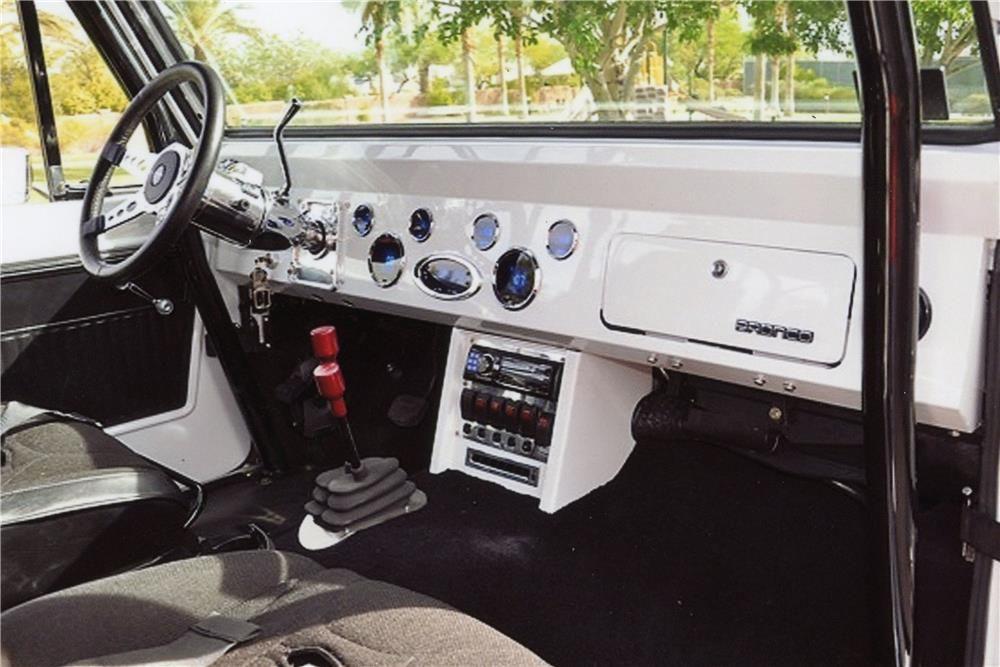 1974 Ford Bronco Custom Suv Interior 182613 Ford Bronco