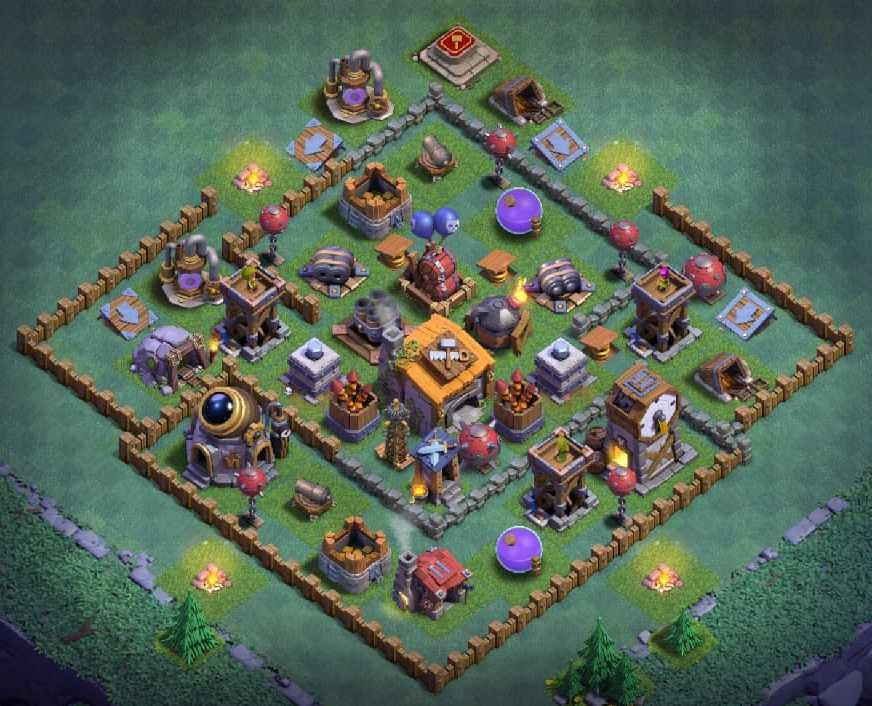12 Best Builder Hall 6 Base Links Anti 1 Stars 4000 In 2020 Clash Of Clans App Clash Of Clans Night Witches