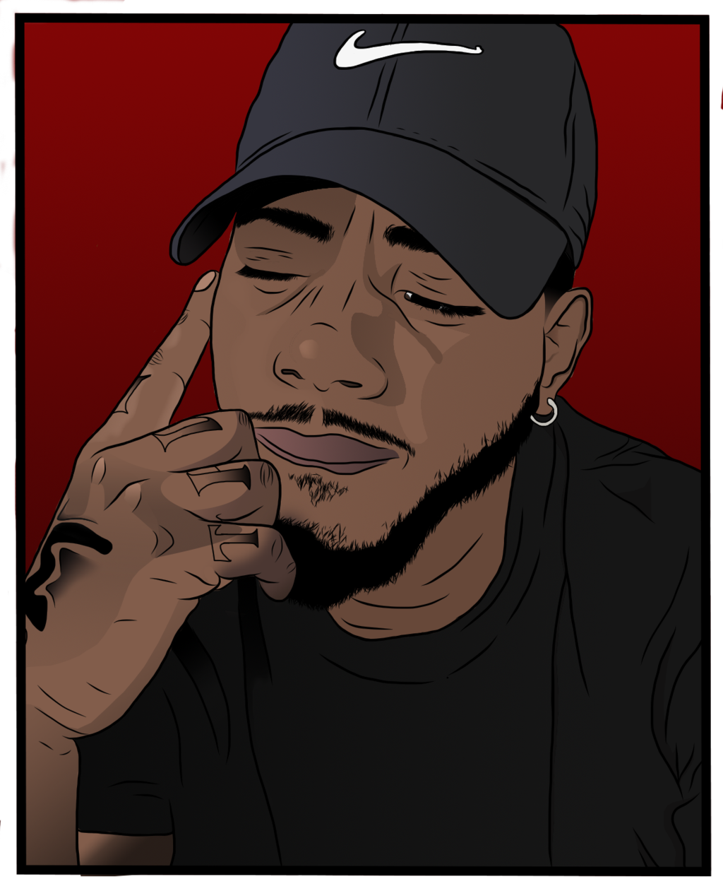 Resultado De Imagem Para Bryson Tiller Desenho De Rua Arte Do Hip Hop Desenhos Afro