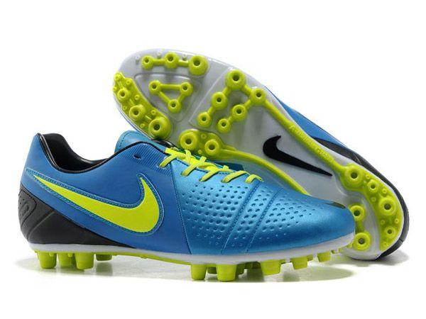 Nike CTR360 Maestri III AG Chaussures De Foot Pour Homme Bleu Jaune