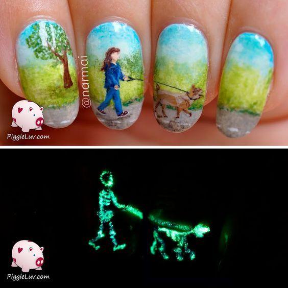 "Top 16 Nail Design With Halloween ""Glow In Dark"" Trend – Best New ..."