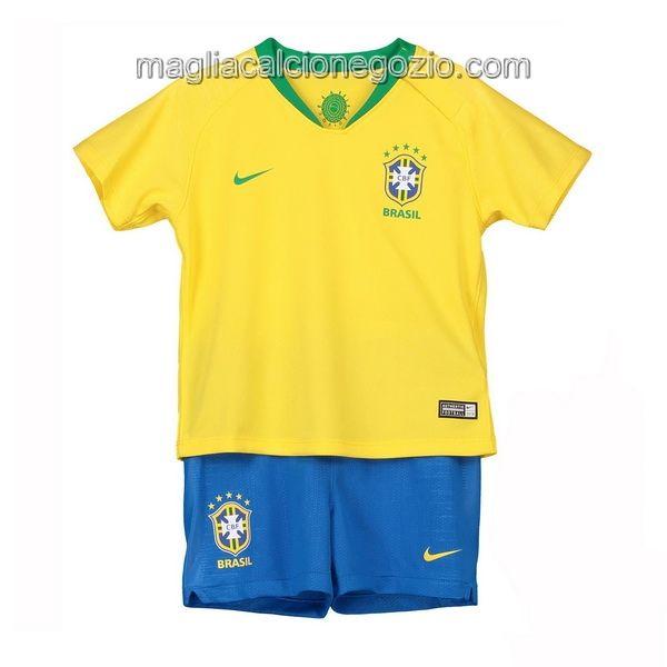 buy popular 6b54c 0fcf5 Home Completo Bambino Nuova Maglia Brasile 2018 ...