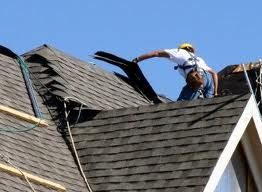 Roof shingles being installed by Total Home Exteriors of Minnesota ...