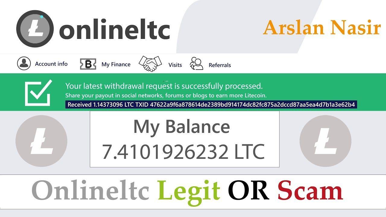 Pin On Earn Free Litecoin