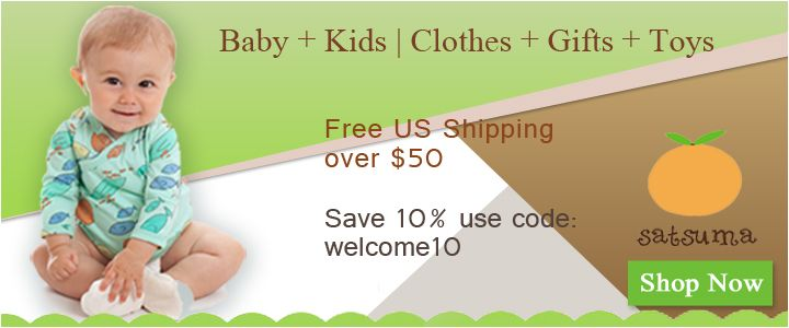 Discounts on Baby Clothing, Baby Gifts, and Baby Toys.