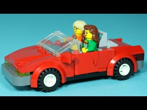 How To Build Lego Sports Car Magic Picnic Lego Animation Vehicles