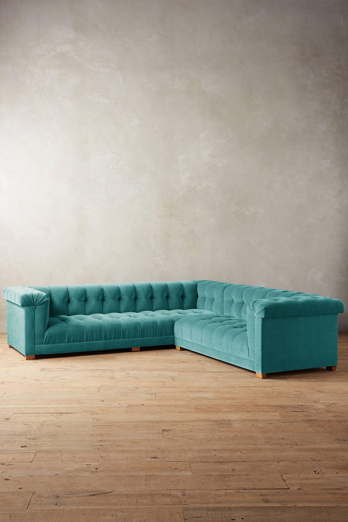 Velvet Kettleby Right Sectional Home, Furniture, Home
