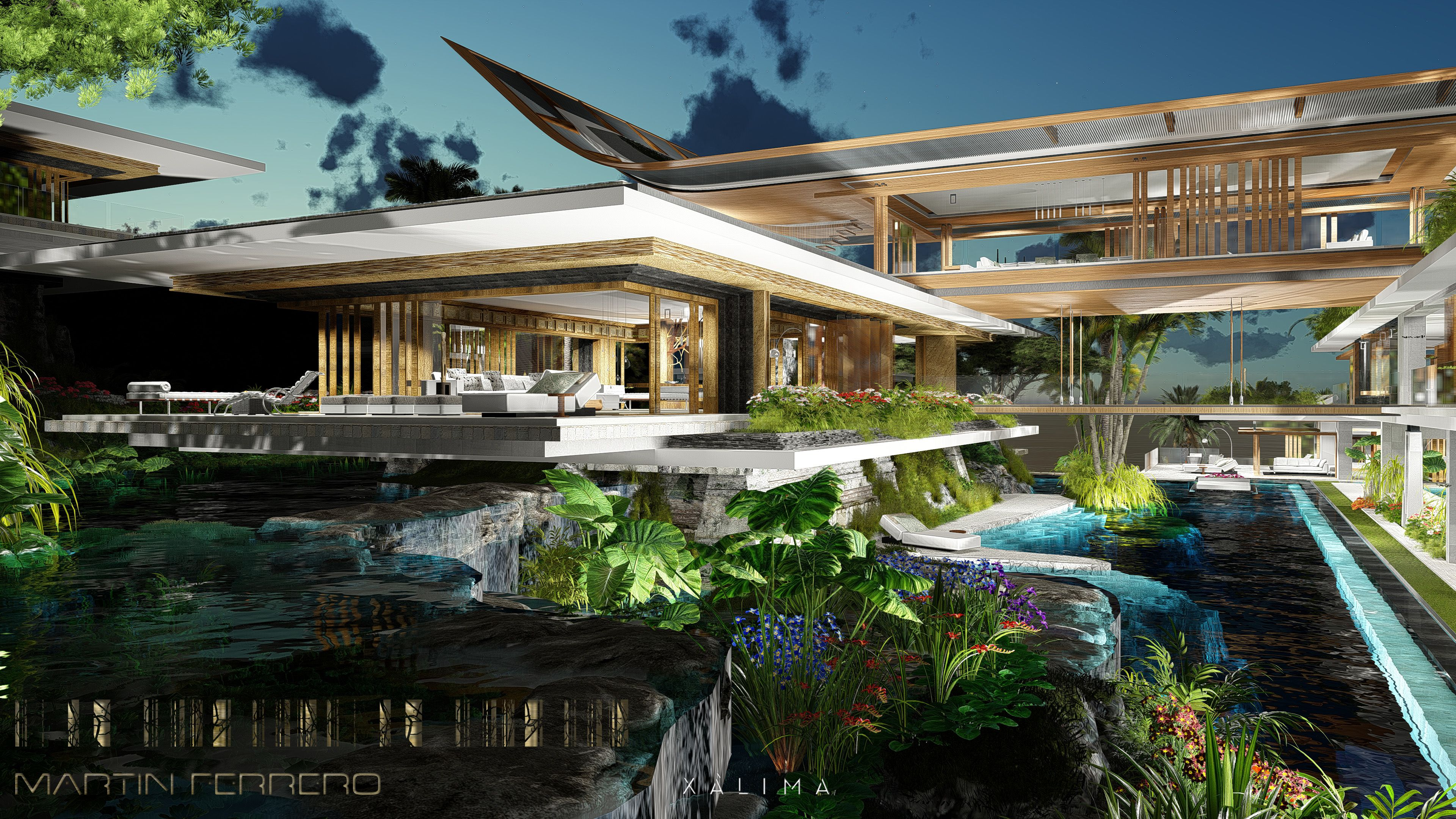 Pin Em Architecture