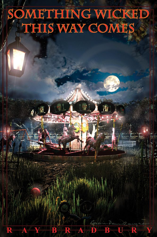 Something Wicked This Way Comes by Ray Bradbury | A mysterious carnival pitches its tent outside an idyllic American town in the early part of the twentieth century, fulfilling dreams at a heavy price.