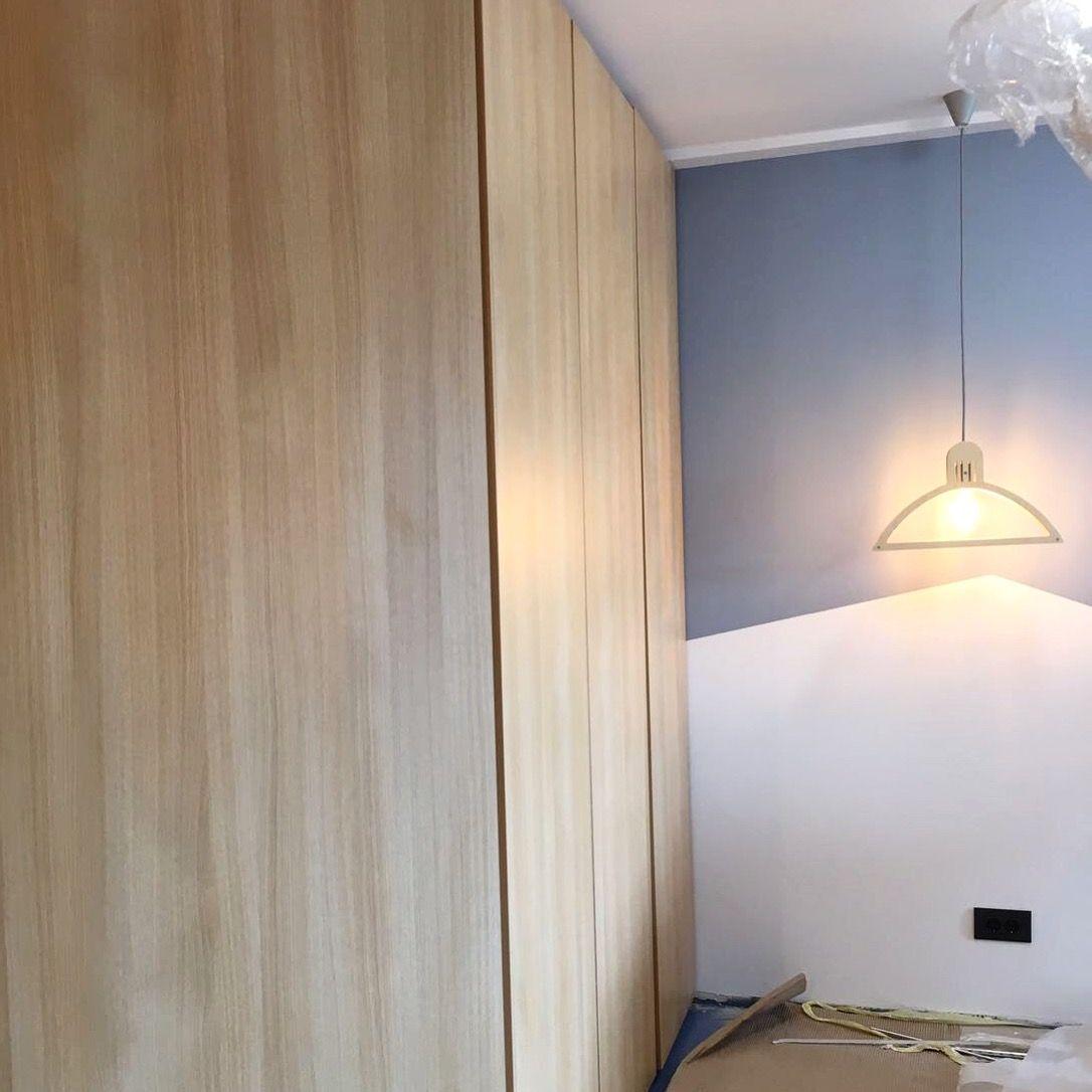 Work in progress in Bucharest: 2 rooms apartment.