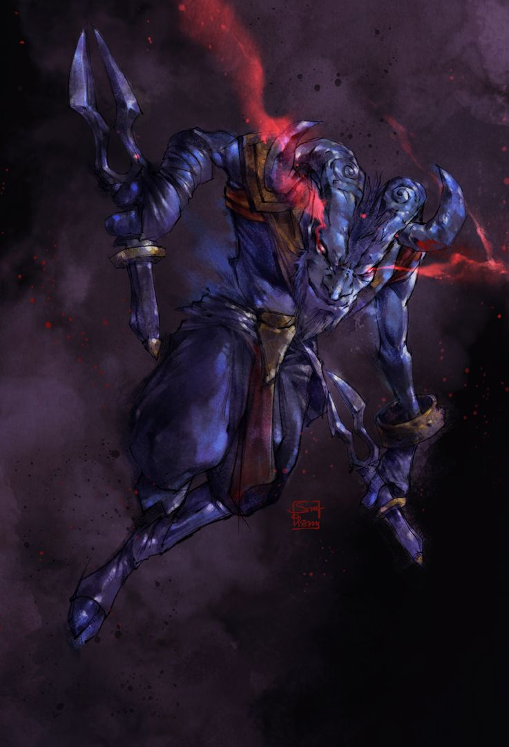 Rikimaru Dota 2 Defense Of The Ancients Character Art