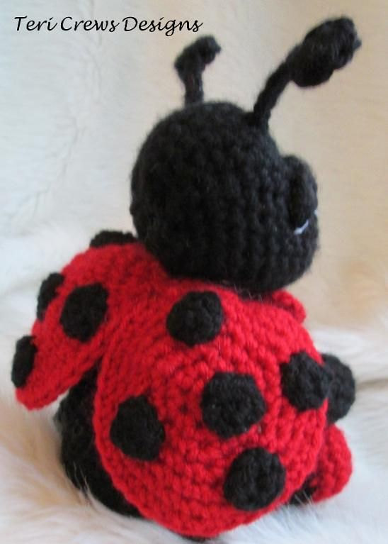 4) Name: \'Crocheting : Cute Ladybug Crochet Pattern | Crochet ...