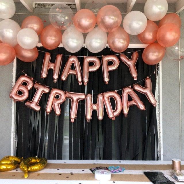 13th Birthday Decorations 13 Birthday Party Supplies 13 Rose Etsy In 2021 Birthday Decorations 13th Birthday Decorations Birthday Party Supplies