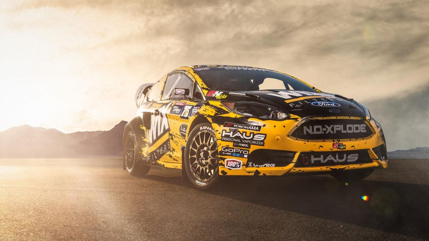 Wallpaper Ford Fiesta St Racing Car Side View Just