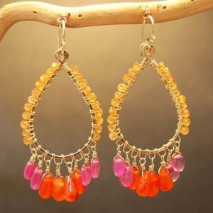 Calico Juno Designs  Earrings :: A - C :: Aphrodite :: Aphrodite 53 -