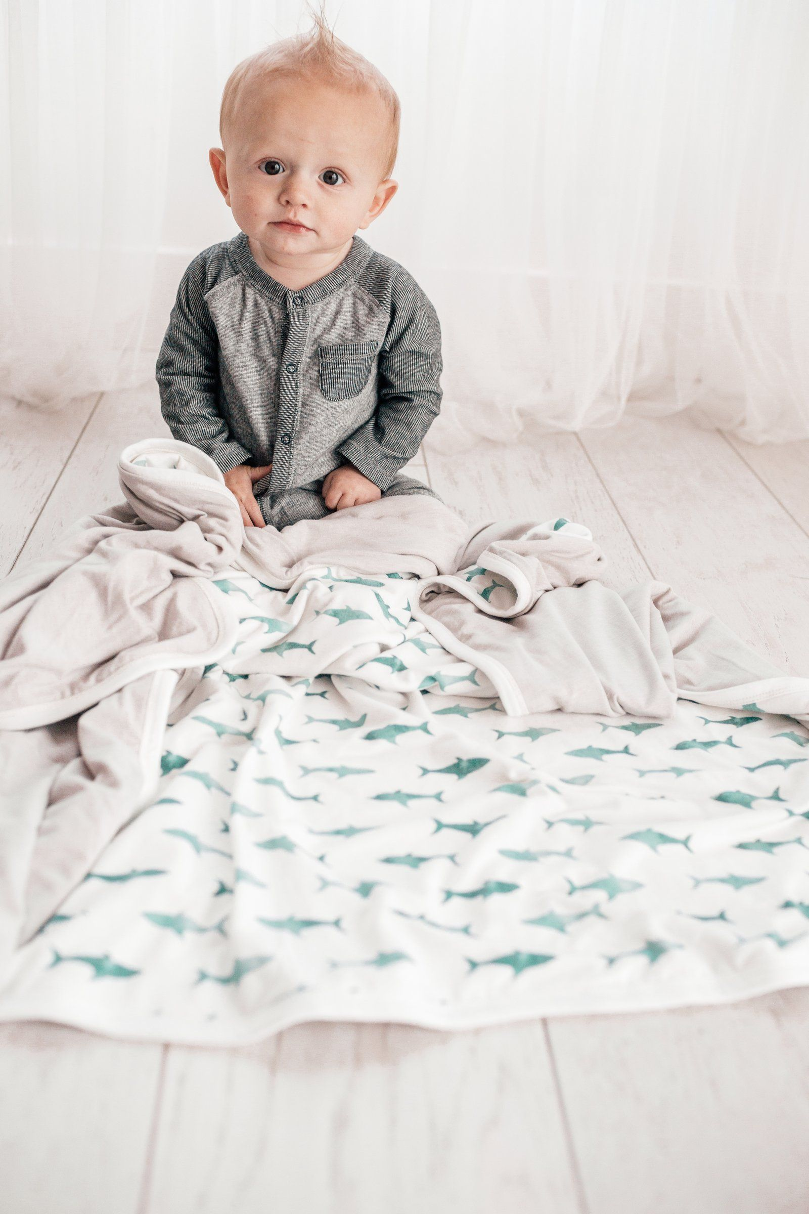 Three Layer Quilt Pacific Quilts Our Baby Weighted Blanket