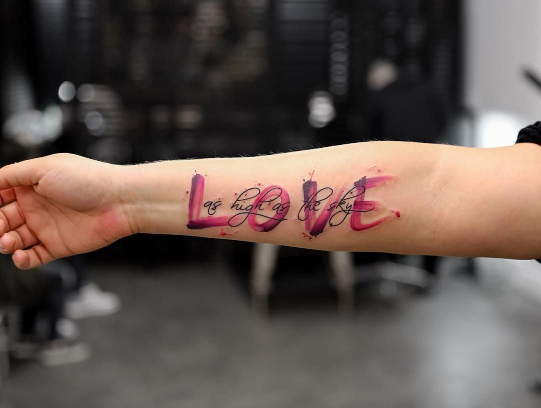 Watercolor Tattoos Will Turn Your Body Into A Living Canvas True