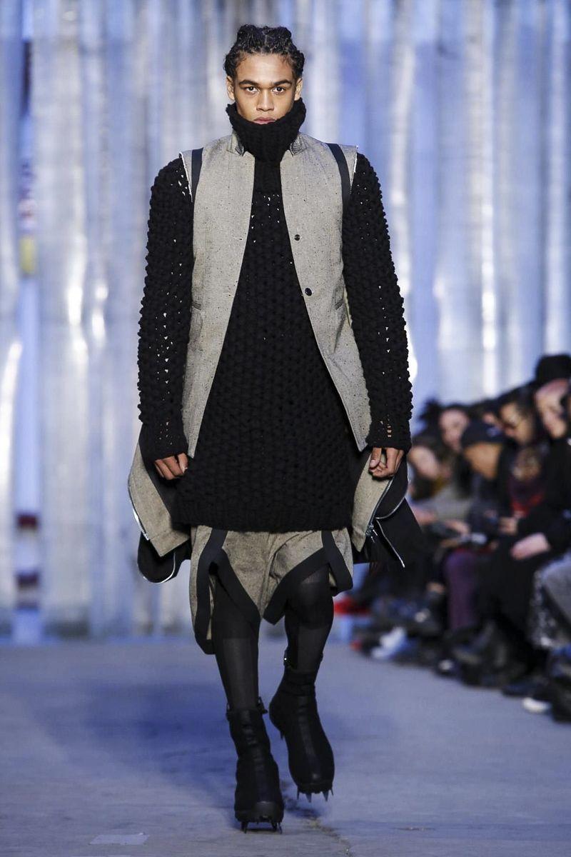 Boris bidjan saberi menswear fall winter paris the modern man