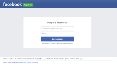 Facebook Com Bejelentkezés