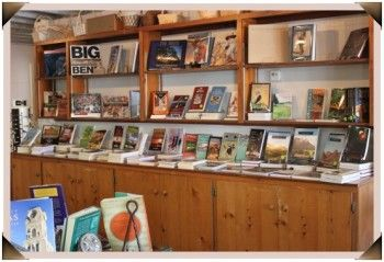 Another location where my books are sold: the Hotel Limpia Gift Shop in Fort Davis, TX