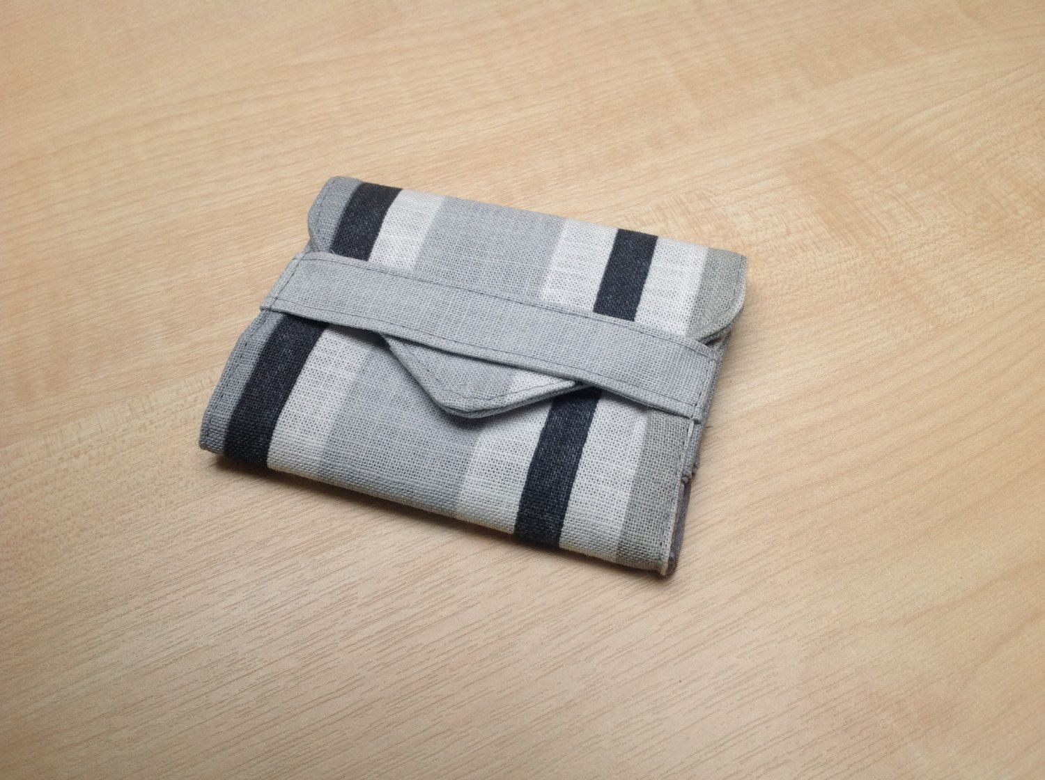Fabric store card wallet,linen striped card holder,business card ...