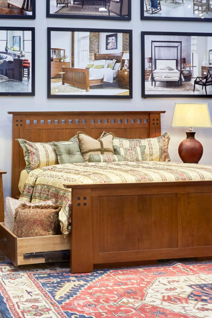 The stickley highlands king bed is the made in america quality you have been searching for