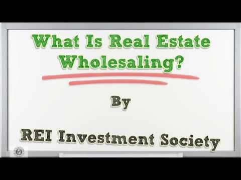 What Is Real Estate Wholesaling?