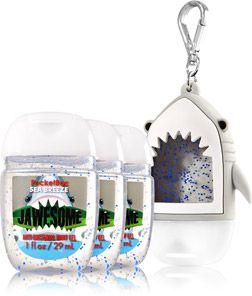 Jawesome Sea Breeze 3 Pack Pocketbac Holder Soap Sanitizer