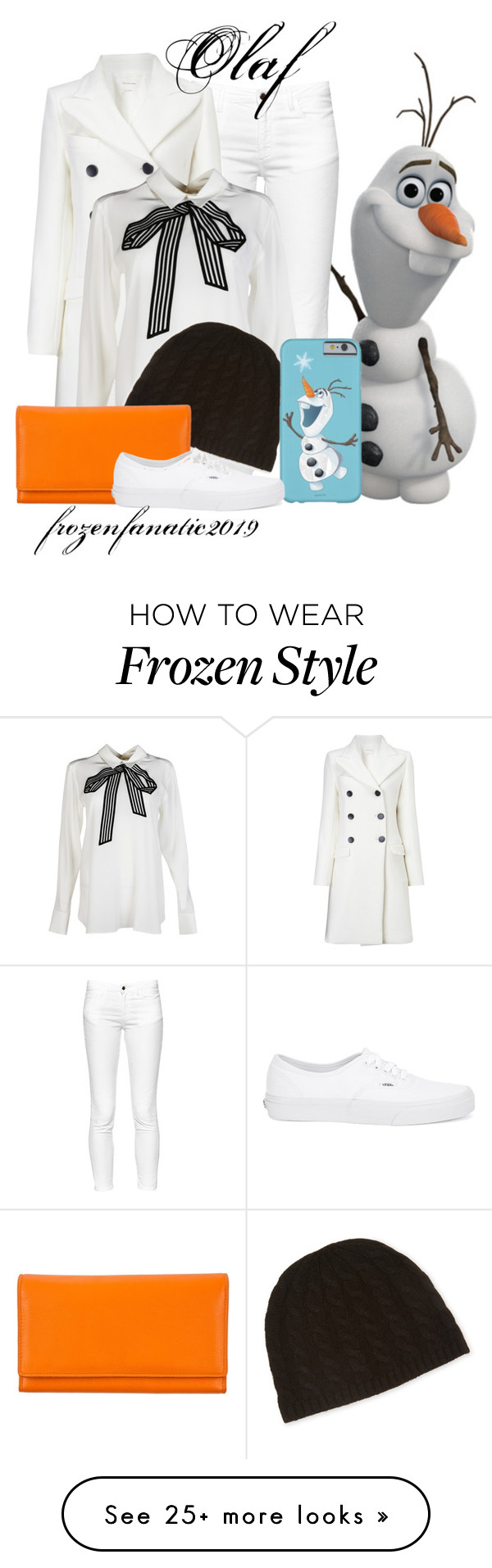"""""""Olaf"""" by frozenfanatic2019 on Polyvore featuring mode, French Connection, Étoile Isabel Marant, STELLA McCARTNEY, Qi Cashmere et Vans"""