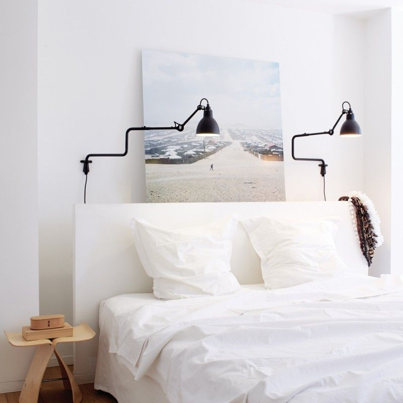 applique murale double coude lampe gras n 303 dcw. Black Bedroom Furniture Sets. Home Design Ideas