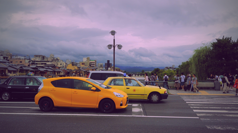 yellow car traffic Solo car | Car insurance tips, Car ...