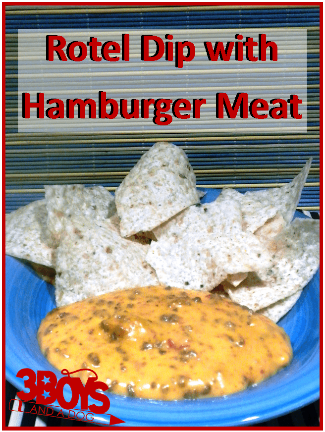 This Velveeta Cheese Dip With Ground Beef And Rotel Is A Family Favorite Rotel Dip With Hamburger Meat Rec Rotel Dip Recipes Rotel Dip With Ground Beef Recipe
