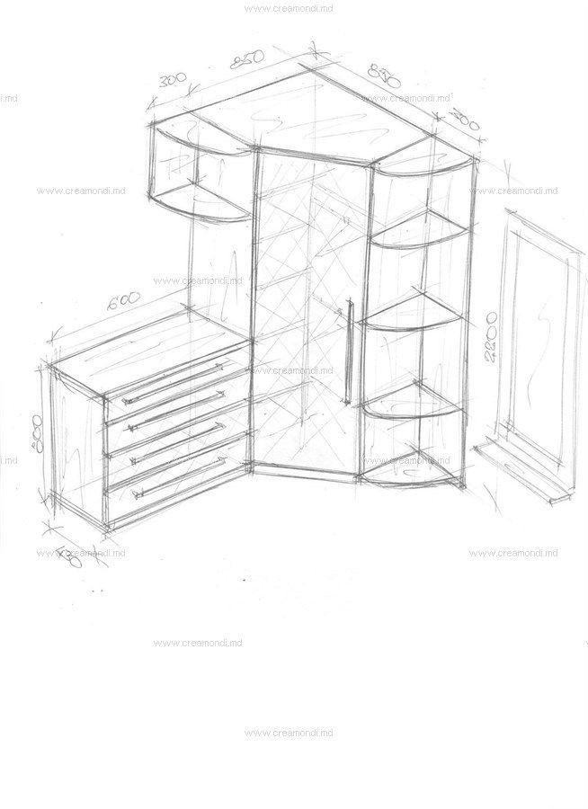 Угловой шкаф с комодом. в 2019 г. | Угловой шкаф, Хранение ...  Дизайн Спальни С Угловой Гардеробной