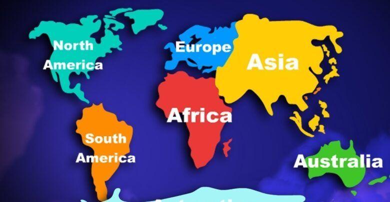 هل تعلم عن العالم ثقف نفسك بمعلومات سريعة North Europe South America Africa