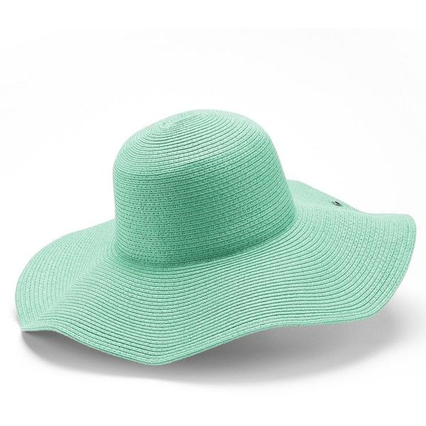 551cb4c7839 Peter Grimm Erin Floppy Hat ( 30) ❤ liked on Polyvore featuring ...