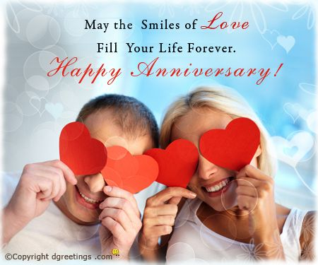 Wish your frinds and family a very happy anniversary with this