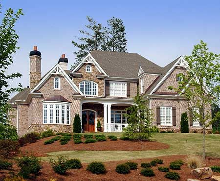 plan 15658ge hip roof french country house plan - French Country House Plans