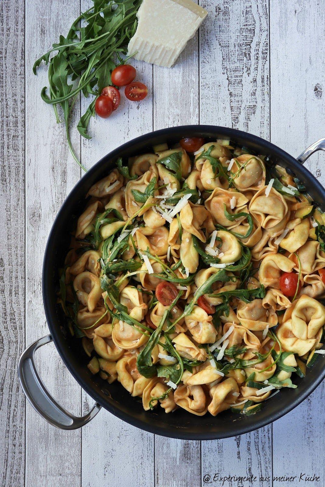 Tortelloni-Zucchini-Pfanne   Auberginauflauf   Pinterest   Zucchini ...
