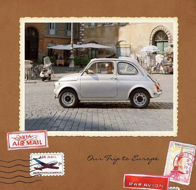 Vintage Travel photobook for Shutterfly by samlovesherdog, via Flickr