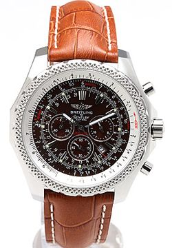 1708405d3c Breitling Bentley Motors Brown Dial Brown Leather Strap - Men's Watch