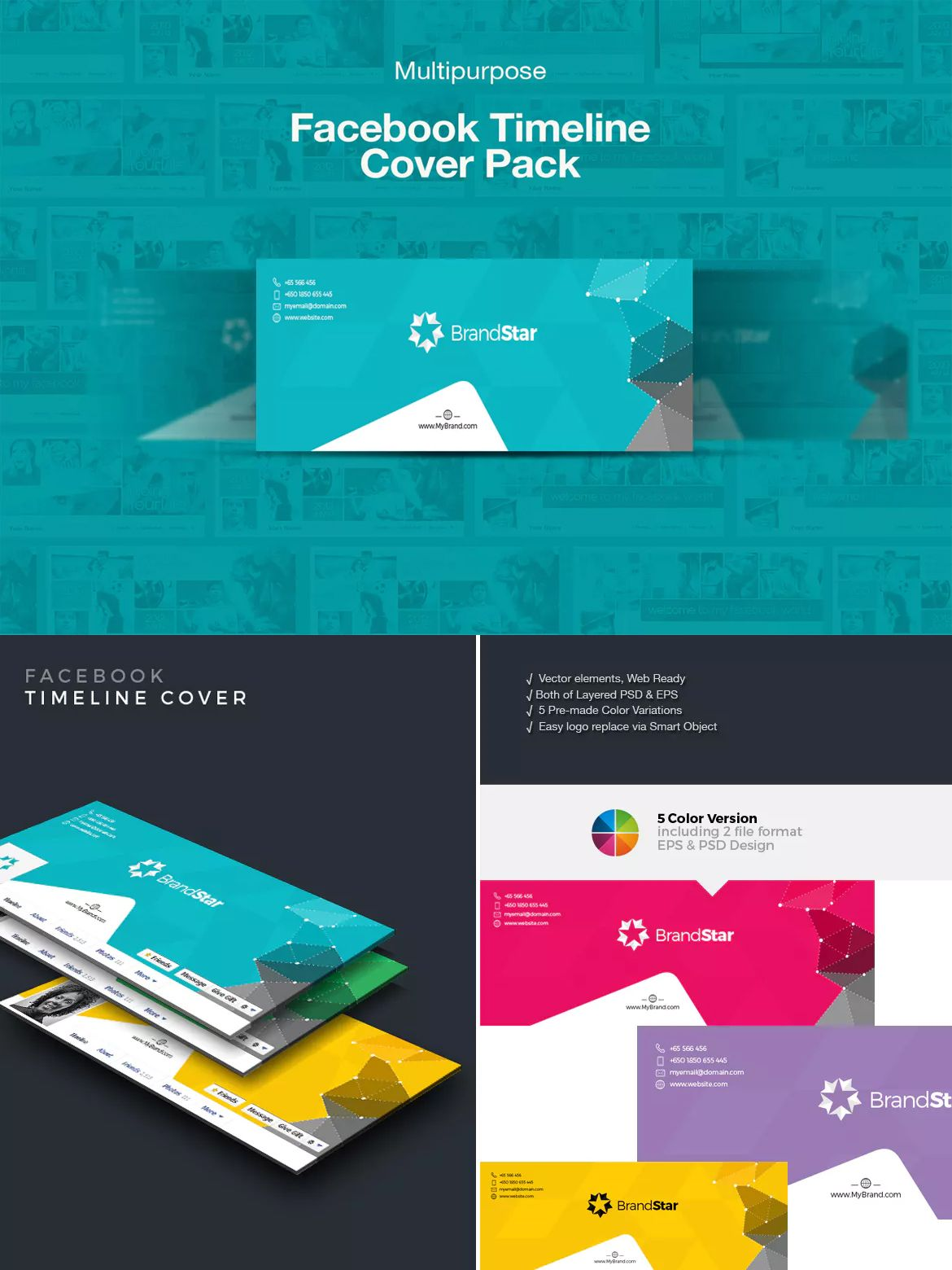 Creative facebook timeline cover template psd facebook banner creative facebook timeline cover template psd pronofoot35fo Choice Image