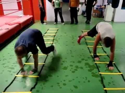 Fitness Bootcamp Agility Ladder Drills