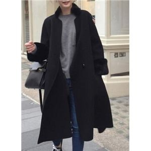 Long Section Large Thick Cloak Woolen Coat | Victoriaswing