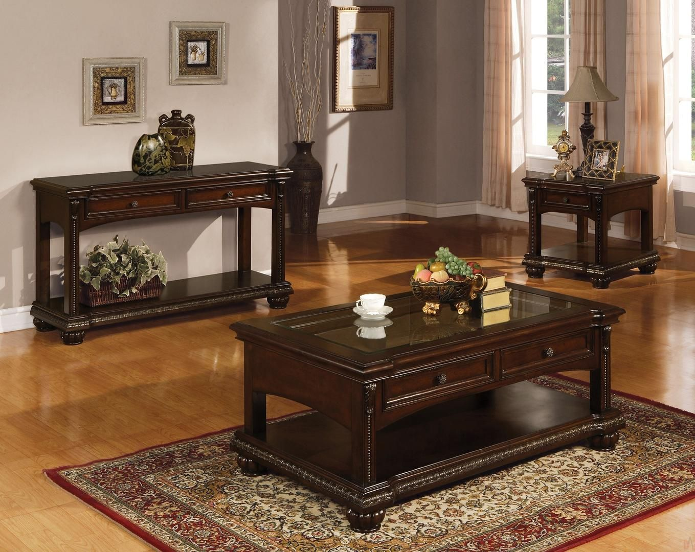 Acme Furniture 10322ces 1 579 89 Living Room Table Sets Traditional Coffee Table Coffee Table
