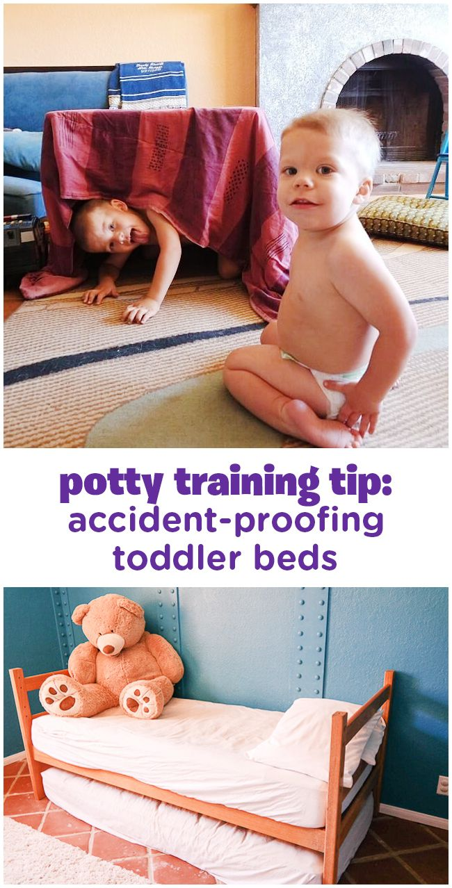 The Making of a Toddler Bed | Bed wetting, Potty training ...