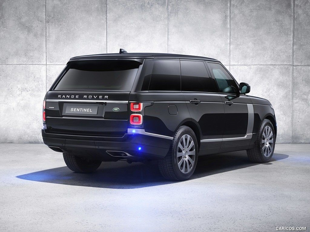 Range Rover Sentinel (2019). Armoured vehicle expertly