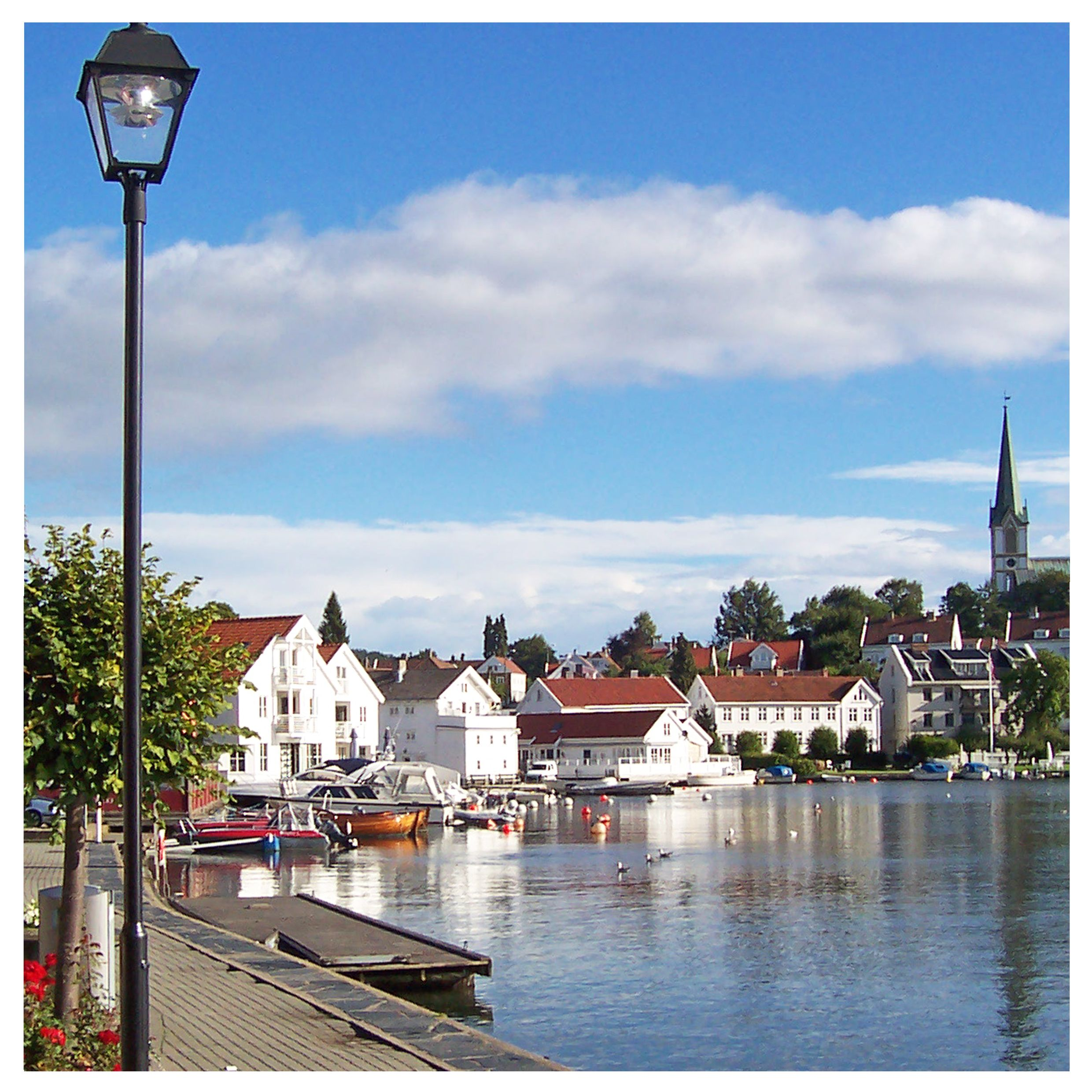 Situated On The Southern Coast Of Norway Kristiansand Is
