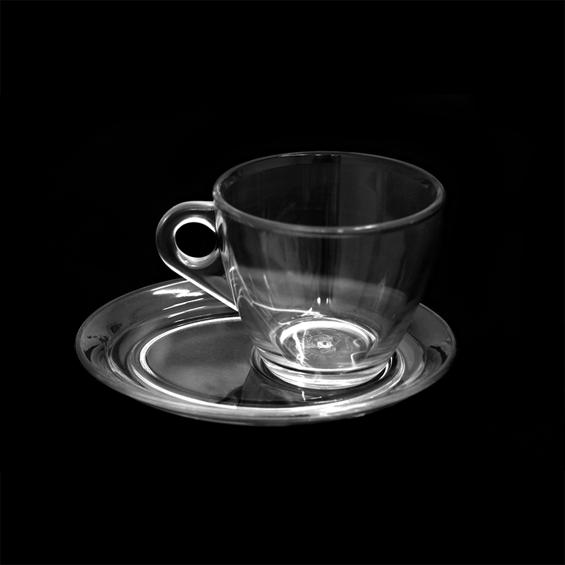 tasse et sous tasse grand mod le verre caf au lait personnalisable existe en tous les. Black Bedroom Furniture Sets. Home Design Ideas